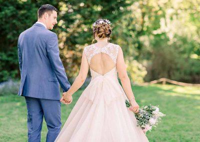 Wedding Ceremony Outdoors - Sheene Mill